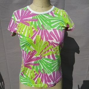 Lilly Pulitzer tropical colored shirt